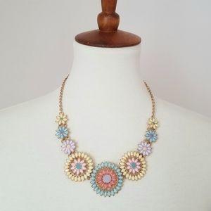 Francesca's Colorful Statement Necklace